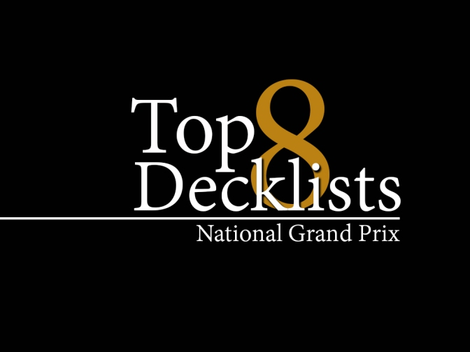 2016 Singapore National Grand Prix Top 8 Decklists
